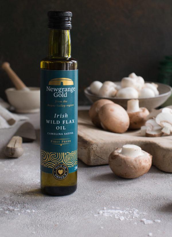 Irish Wild Flax oil