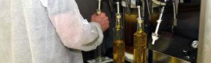 Newgrange Gold oil being bottled
