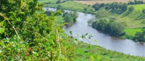 Boyne Valley from Newgrange Gold Farm