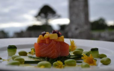 Cured Salmon with Smokey Rapeseed Oil By Alan Clarke