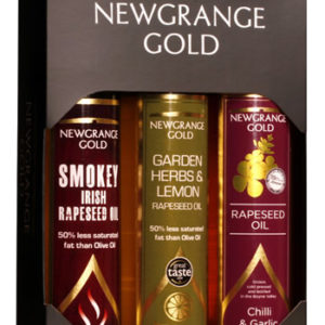 Newgrange Gold Gift Box of 3 Newgrange Gold Rapeseed & Camelina Oils