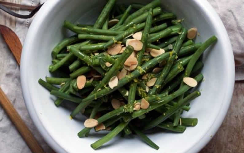 Green Bean Salad With Lemon Mustard Dressing