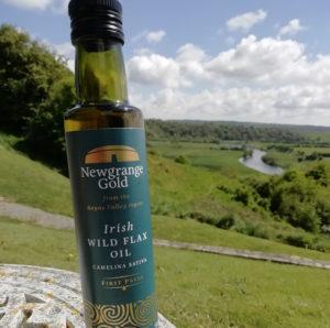 Irish Wild Flax Oil Camelina Sativa from Newgrange Gold