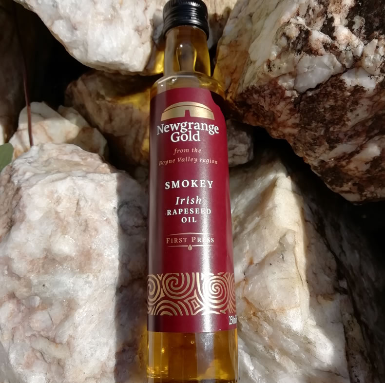 Smokey Irish Rapeseed Oil from Newgrange Gold