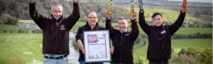 Newgrange Gold team with Meath Tourism Award