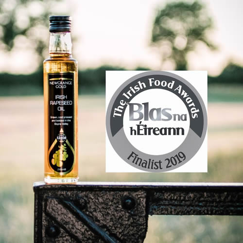 Newgrange Gold Rapeseed Oil in Blas Na hEireann Final