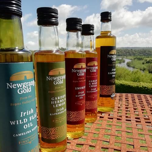 Newgrange Gold Bottles with labels
