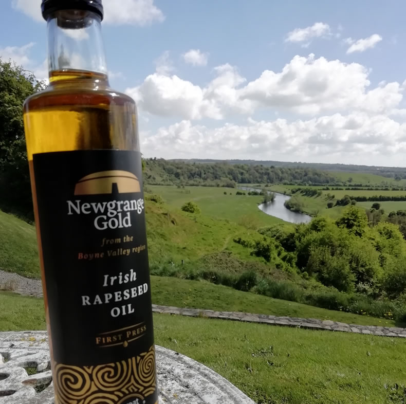 Newgrange Gold Irish Rapeseed Oil Bottle