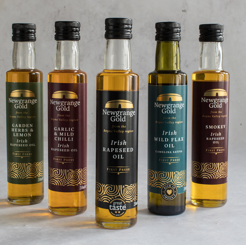 Newgrange Gold Flavoured Oils