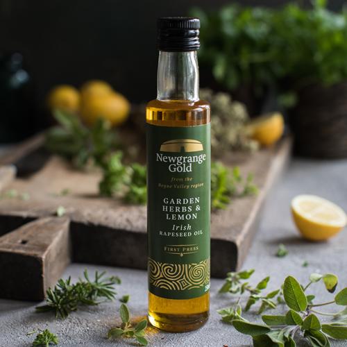 Newgrange Gold Garden Herbs & Lemon Rapeseed Oil